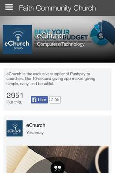 Faith Community Church - CA apk screenshot