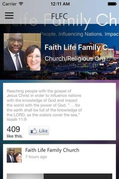Faith Life Family Church poster