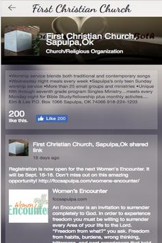 First Christian of Sapulpa apk screenshot