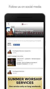 First Baptist Moncton screenshot 2