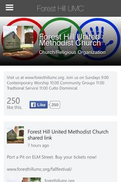 Forest Hill UMC apk screenshot