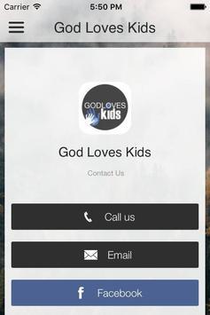 God Loves Kids poster