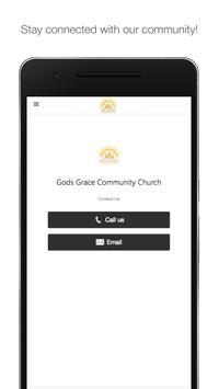 God's Grace Community Church poster