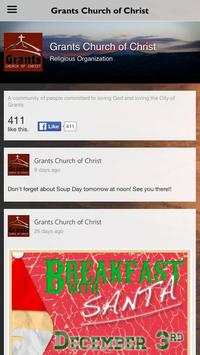 Grants Church of Christ poster