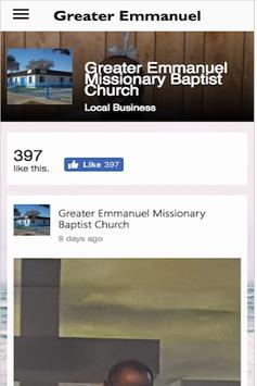 Greater Emmanuel MBC apk screenshot