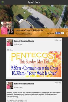 Harvest Church - OH screenshot 1
