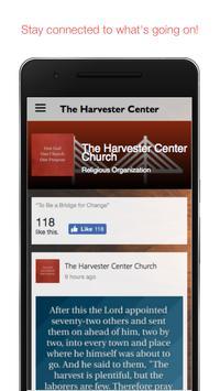 The Harvester Center apk screenshot