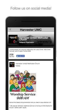 HarvesterUMC apk screenshot