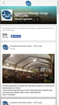 Jonesboro Worship Center apk screenshot