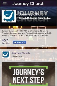 Journey Church Des Moines apk screenshot