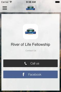 River Of Life Fellowship WA poster