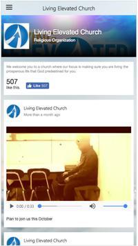 Living Elevated Church screenshot 1