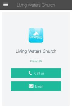 Living Waters Pasadena poster