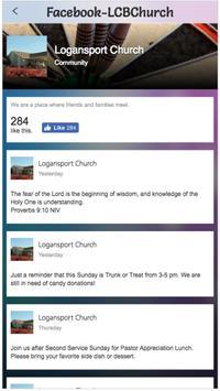 Logansport Church LCB poster