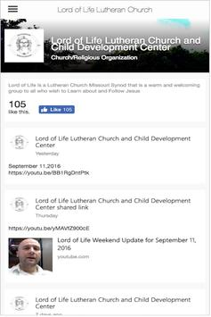 Lord of Life Lutheran Church apk screenshot