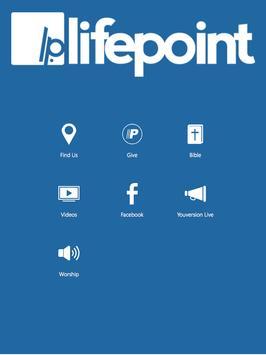 Lifepoint Baptist Church poster