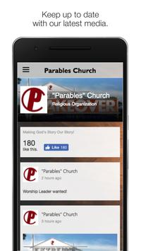 Parables Church MS poster