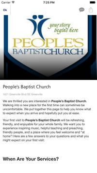 PeoplesBaptist poster