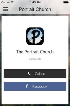 The Portrait Church poster