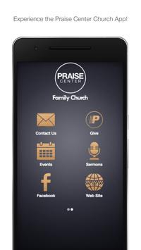 Praise Center poster