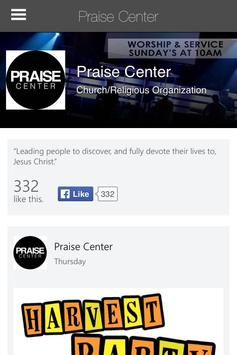 Praise Center apk screenshot