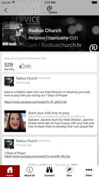 Radius Church NW poster