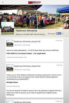 RedArrow Ministries apk screenshot