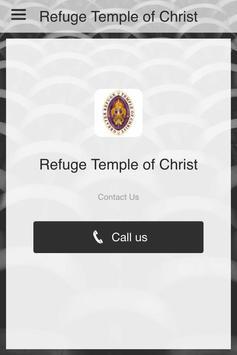 Refuge Temple of Christ poster