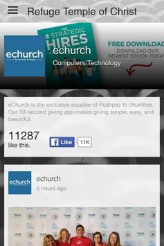 Refuge Temple of Christ apk screenshot