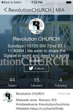 Revolution Church MIA apk screenshot