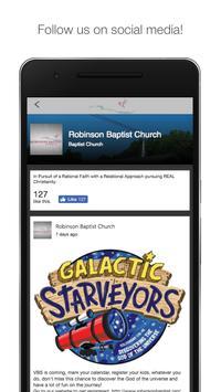 Robinson Baptist screenshot 1