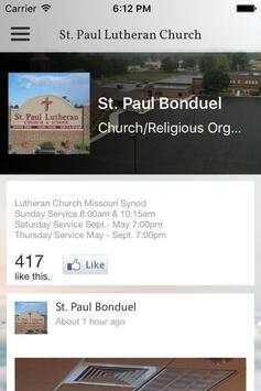 St. Paul Church Bonduel apk screenshot