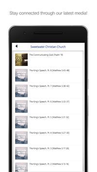 Sweetwater Christian Church apk screenshot