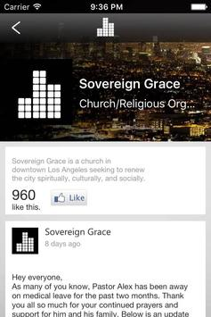 Sovereign Grace LA apk screenshot