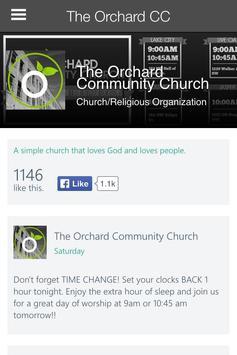 The Orchard Community Church apk screenshot