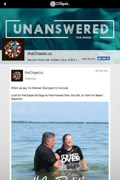 theChapel of Pinellas apk screenshot