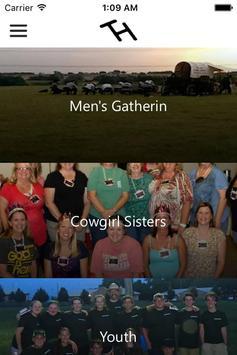 Top Hand Cowboy Church poster