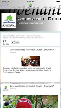 Covenant UMC Smyrna poster