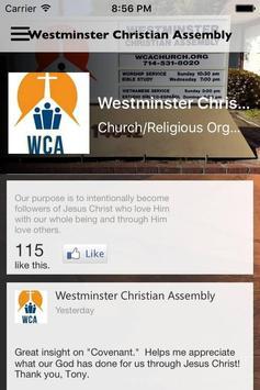 WCA Church poster