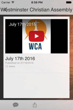 WCA Church apk screenshot