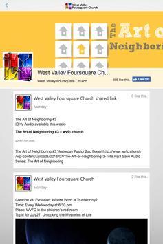 West Valley Foursquare apk screenshot