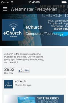Westminster Presbyterian apk screenshot