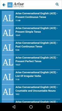 Arise Learning screenshot 5