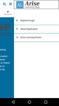 Arise Learning screenshot 1