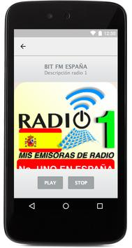 Radios No 1 en España apk screenshot