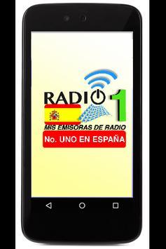 Radios No 1 en España poster