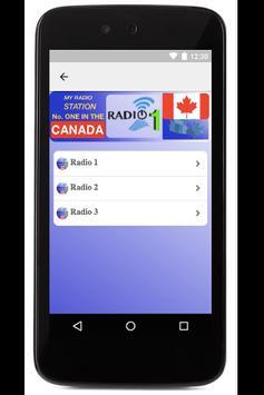 Radios No 1 in Canada screenshot 3
