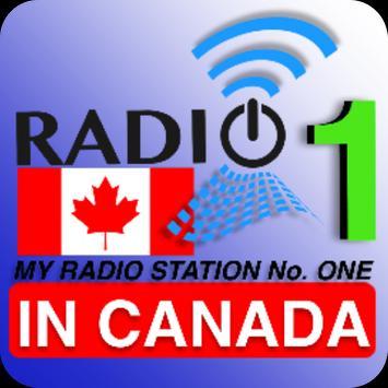 Radios No 1 in Canada poster