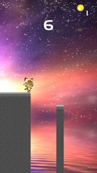 Cat runner fun cat runner game apk screenshot