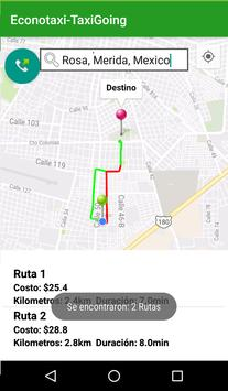 Econotaxi - Taxigoing apk screenshot
